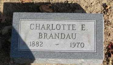 BRANDAU, CHARLOTTE E. - Erie County, Ohio | CHARLOTTE E. BRANDAU - Ohio Gravestone Photos