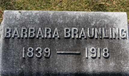 BRAUNLING, BARBARA - Erie County, Ohio | BARBARA BRAUNLING - Ohio Gravestone Photos