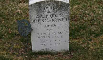 BRENGARTNER, ARTHUR G. - Erie County, Ohio | ARTHUR G. BRENGARTNER - Ohio Gravestone Photos