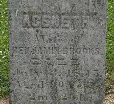 BROOKS, ASENETH - Erie County, Ohio | ASENETH BROOKS - Ohio Gravestone Photos