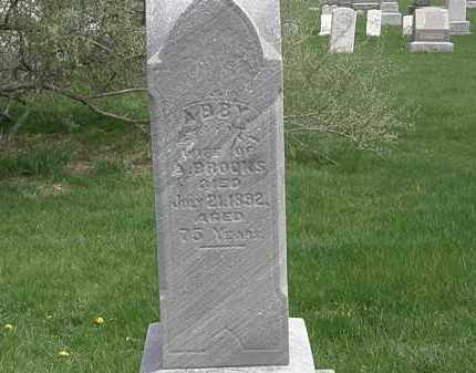 BROOKS, ABBY - Erie County, Ohio | ABBY BROOKS - Ohio Gravestone Photos