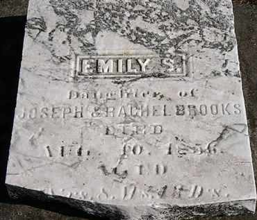 BROOKS, EMILY S. - Erie County, Ohio | EMILY S. BROOKS - Ohio Gravestone Photos