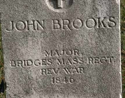BROOKS, JOHN - Erie County, Ohio | JOHN BROOKS - Ohio Gravestone Photos