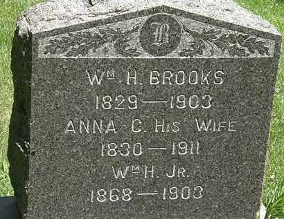 BROOKS, WM. H. - Erie County, Ohio | WM. H. BROOKS - Ohio Gravestone Photos