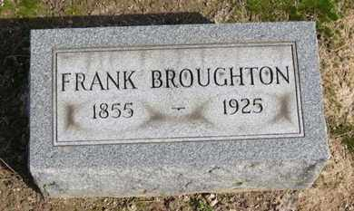 BROUGHTON, FRANK - Erie County, Ohio | FRANK BROUGHTON - Ohio Gravestone Photos