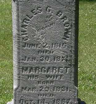 BROWN, MARGARET - Erie County, Ohio | MARGARET BROWN - Ohio Gravestone Photos