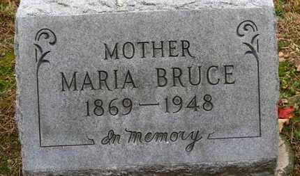 BRUCE, MARRIA - Erie County, Ohio | MARRIA BRUCE - Ohio Gravestone Photos