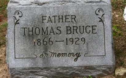 BRUCE, THOMAS - Erie County, Ohio | THOMAS BRUCE - Ohio Gravestone Photos