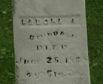 BRUNDAGE, LADORA A. - Erie County, Ohio | LADORA A. BRUNDAGE - Ohio Gravestone Photos