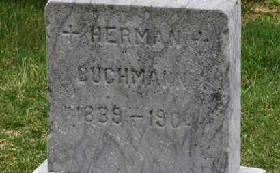 BUCHMANN, HERMAN - Erie County, Ohio | HERMAN BUCHMANN - Ohio Gravestone Photos