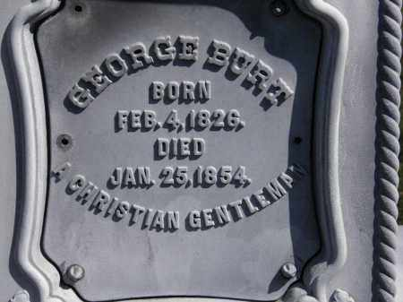 BURT, GEORGE - Erie County, Ohio | GEORGE BURT - Ohio Gravestone Photos
