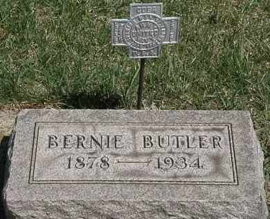 BUTLER, BERNIE - Erie County, Ohio | BERNIE BUTLER - Ohio Gravestone Photos