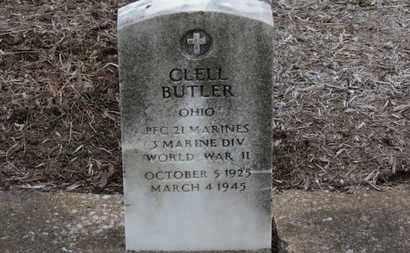 BUTLER, CLELL - Erie County, Ohio | CLELL BUTLER - Ohio Gravestone Photos