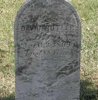 BUTLER, DAVID - Erie County, Ohio   DAVID BUTLER - Ohio Gravestone Photos