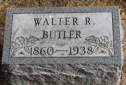 BUTLER, WALTER R. - Erie County, Ohio | WALTER R. BUTLER - Ohio Gravestone Photos