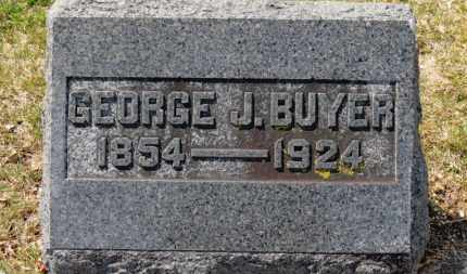BUYER, GEORGE J. - Erie County, Ohio | GEORGE J. BUYER - Ohio Gravestone Photos