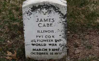 CABE, JAMES - Erie County, Ohio   JAMES CABE - Ohio Gravestone Photos