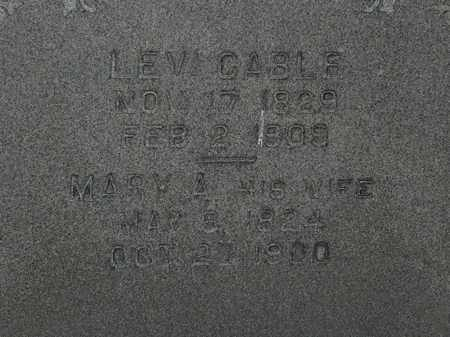 CABLE, LEVI - Erie County, Ohio | LEVI CABLE - Ohio Gravestone Photos