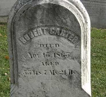 CARTER, ROBERT - Erie County, Ohio   ROBERT CARTER - Ohio Gravestone Photos