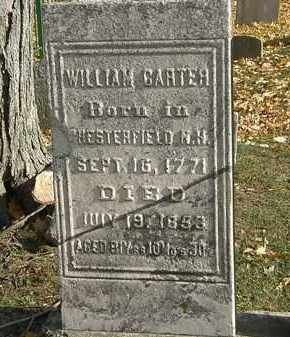 CARTER, WILLIAM - Erie County, Ohio | WILLIAM CARTER - Ohio Gravestone Photos