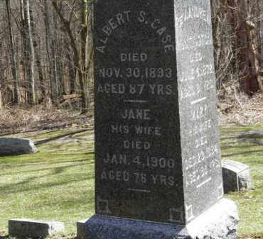 CASE, JANE - Erie County, Ohio | JANE CASE - Ohio Gravestone Photos