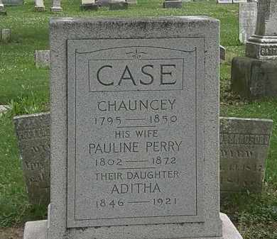 PERRY CASE, PAULINE - Erie County, Ohio | PAULINE PERRY CASE - Ohio Gravestone Photos