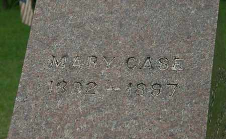 CASE, MARY - Erie County, Ohio | MARY CASE - Ohio Gravestone Photos