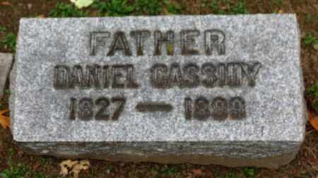 CASSIDY, DANIEL - Erie County, Ohio | DANIEL CASSIDY - Ohio Gravestone Photos
