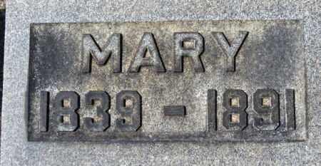 CASSIDY, MARY - Erie County, Ohio | MARY CASSIDY - Ohio Gravestone Photos