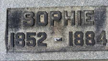CASSIDY, SOPHIE - Erie County, Ohio | SOPHIE CASSIDY - Ohio Gravestone Photos