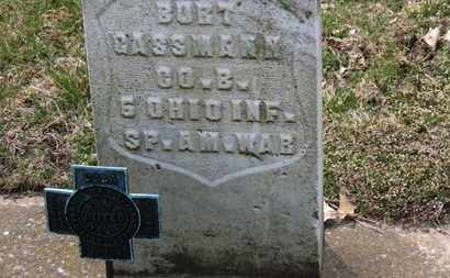 CASSMANN, BURT - Erie County, Ohio | BURT CASSMANN - Ohio Gravestone Photos