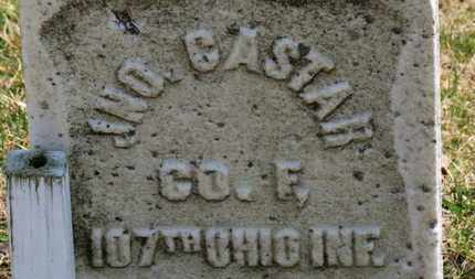 CASTAR, JNO. - Erie County, Ohio | JNO. CASTAR - Ohio Gravestone Photos