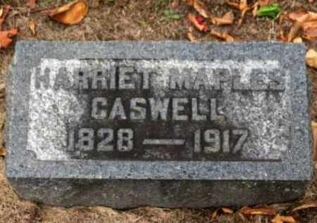 MAPLES CASWELL, HARRIET - Erie County, Ohio | HARRIET MAPLES CASWELL - Ohio Gravestone Photos