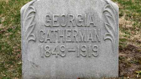 CATHERMAN, GEORGIA - Erie County, Ohio | GEORGIA CATHERMAN - Ohio Gravestone Photos