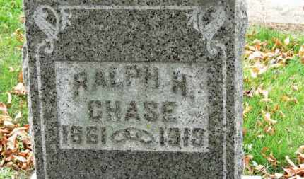 CHASE, RALPH H. - Erie County, Ohio | RALPH H. CHASE - Ohio Gravestone Photos