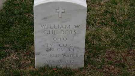 CHILDERS, WILLIAM W. - Erie County, Ohio | WILLIAM W. CHILDERS - Ohio Gravestone Photos
