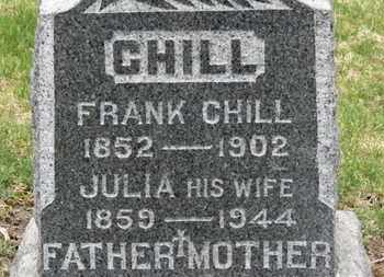 CHILL, JULIA - Erie County, Ohio | JULIA CHILL - Ohio Gravestone Photos