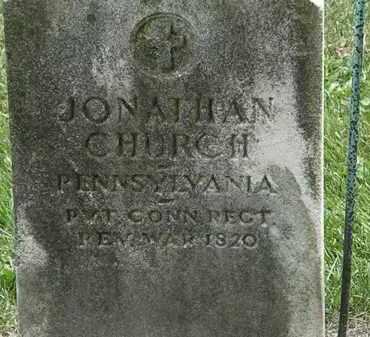 CHURCH, JONATHAN - Erie County, Ohio | JONATHAN CHURCH - Ohio Gravestone Photos