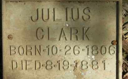 CLARK, JULIUS - Erie County, Ohio | JULIUS CLARK - Ohio Gravestone Photos