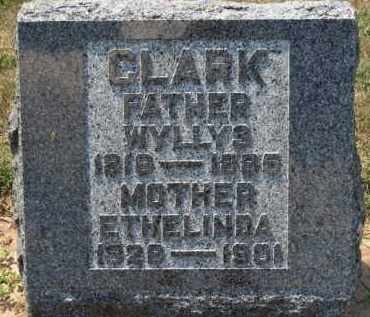 CLARK, WYLLYS - Erie County, Ohio | WYLLYS CLARK - Ohio Gravestone Photos
