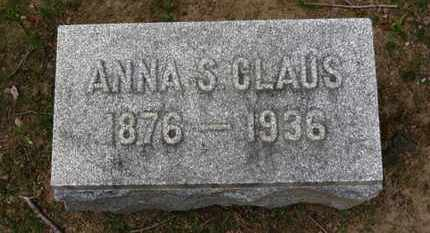 CLAUS, ANNA S. - Erie County, Ohio | ANNA S. CLAUS - Ohio Gravestone Photos