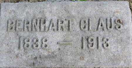 CLAUS, BERNHART - Erie County, Ohio | BERNHART CLAUS - Ohio Gravestone Photos