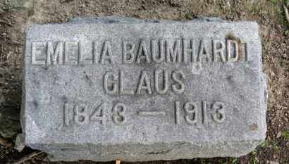 CLAUS, EMILIA - Erie County, Ohio | EMILIA CLAUS - Ohio Gravestone Photos