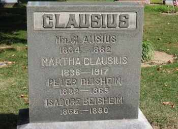 CLAUSIUS, MARTHA - Erie County, Ohio | MARTHA CLAUSIUS - Ohio Gravestone Photos