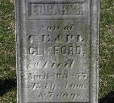 CLIFFORD, EDGAR S. - Erie County, Ohio | EDGAR S. CLIFFORD - Ohio Gravestone Photos