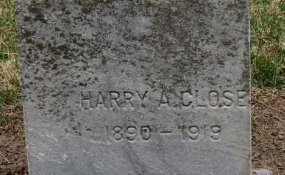 CLOSE, HARRY A. - Erie County, Ohio | HARRY A. CLOSE - Ohio Gravestone Photos