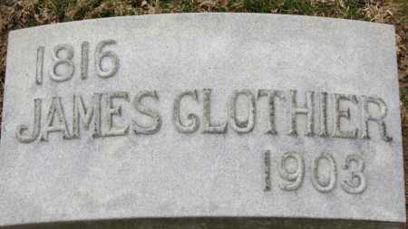 CLOTHIER, JAMES - Erie County, Ohio | JAMES CLOTHIER - Ohio Gravestone Photos