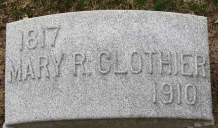 CLOTHIER, MARY R. - Erie County, Ohio | MARY R. CLOTHIER - Ohio Gravestone Photos