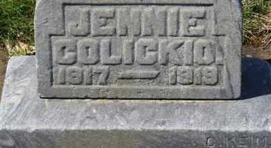 COLICKIO, JENNIE - Erie County, Ohio | JENNIE COLICKIO - Ohio Gravestone Photos