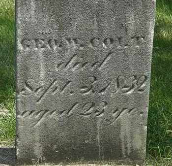 COLT, GEO W. - Erie County, Ohio | GEO W. COLT - Ohio Gravestone Photos